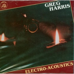CD Greg Harris- electro acoustic 097037012526