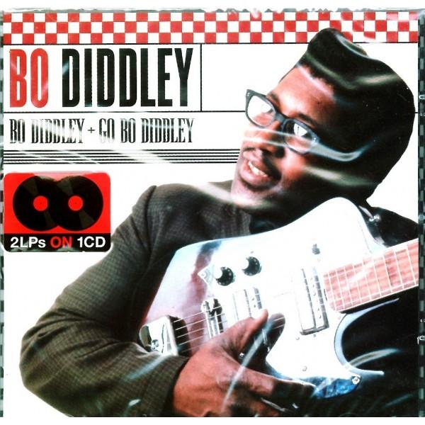 CD Bo Diddley- bo diddley+go bo diddley