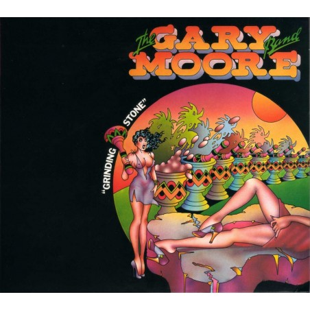 CD the Gary Moore Band- grinding stone 4009910230220