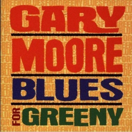CD Gary Moore- blues for greeny 724384050726