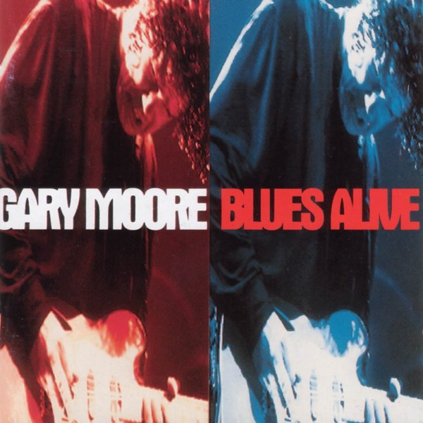 CD Gary Moore- blues alive 077778779827