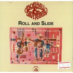 CD Bob Hall- roll and slide 097037004422