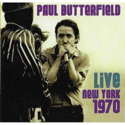 CD Paul Butterfield ‎– Live...