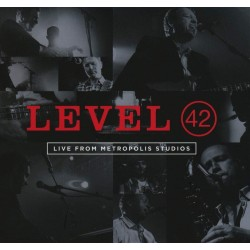 CD Level 42 ‎– Live From...