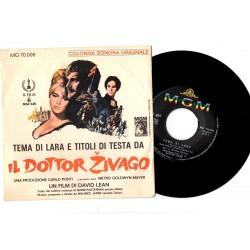"LP Vinile 7"" Maurice Jarre..."