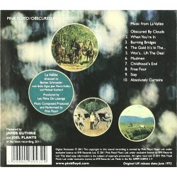 CD Pink Floyd- obscured by clouds