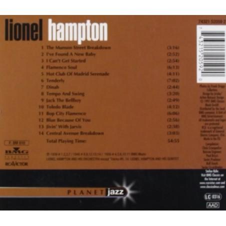 CD Lionel Hampton- planet jazz 743215205920