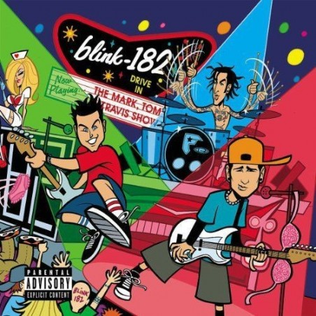 CD Blink182-The mark,Tom and Travis show (album) 008811237929