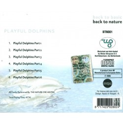 CD Playful Dolphins- back to basic back to nature