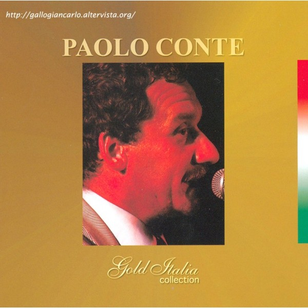 CD Paolo Conte- gold italia collection