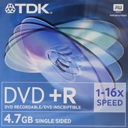TDK Dvd+r 47 4.7GB -...
