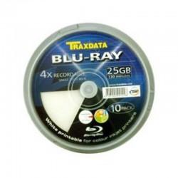 10x TRAXDATA BLU-RAY BD-R...