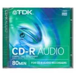 TDK Cdr audio 80 Cd audio...