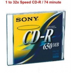 Sony - CD-R - 650 MB (...