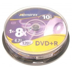Memorex 1x-8x DVD+R 4.7 gb