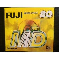 Fuji MD-S 80 Mini-Disc gelb