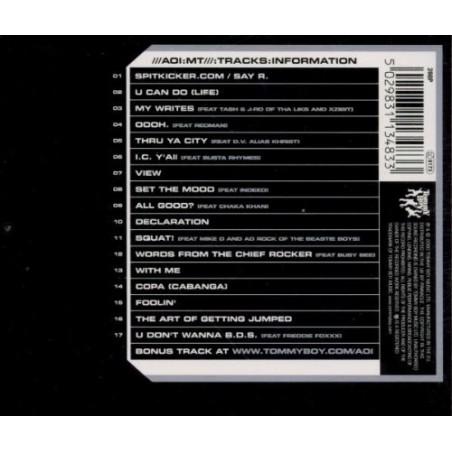 CD De La Soul- art official intelligence mosaic thump