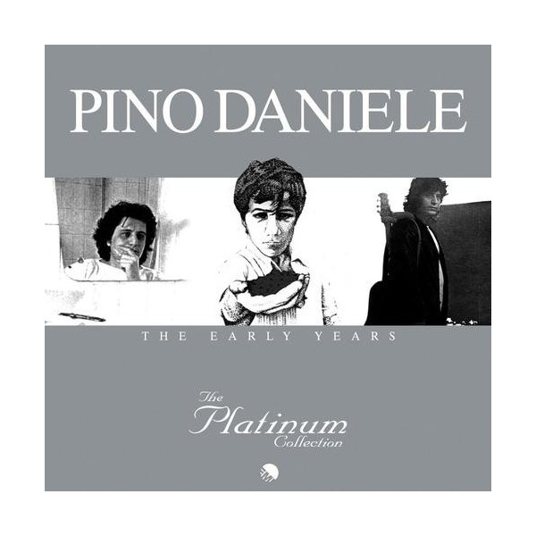 CD Pino Daniele- the early years platinum collection 3 album