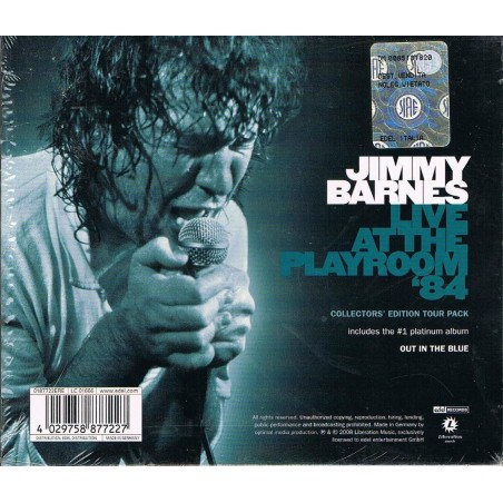 CD Jimmi Barnes - Out in the blue - Live at the playroom '84 - doppio cd