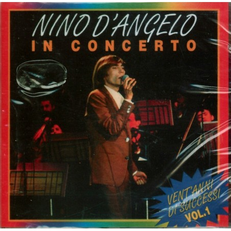CD Nino D'Angelo- in concerto vol 1