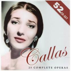 CD Maria CALLAS - 25 OPERE...
