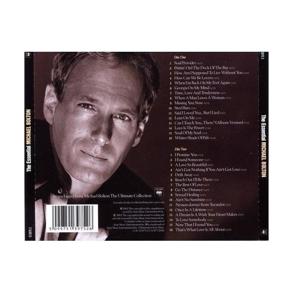 CD Michael Bolton- the essential (doppio album)