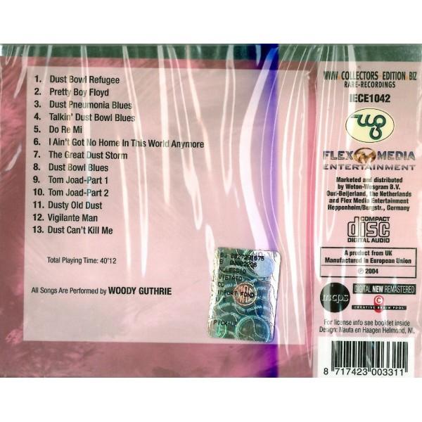 CD Woody Guthrie Dusty Bowl Ballads 8017423003311