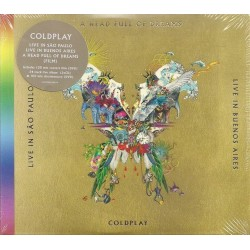 CD Coldplay ‎– Live In...