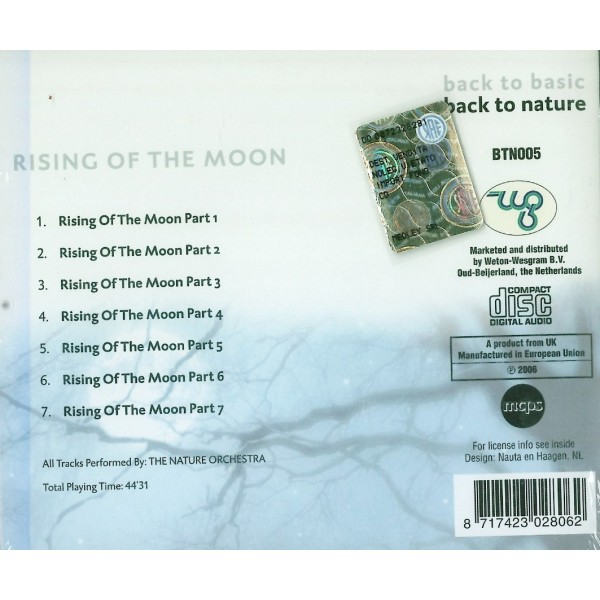 CD Back to basic Back to Nature- rising of the moon 8017423028062