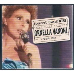 CD ORNELLA VANONI LIVE RTSI...