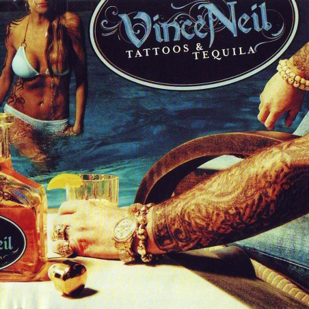 CD Vince Neil- tattoos & tequila 8024391046326