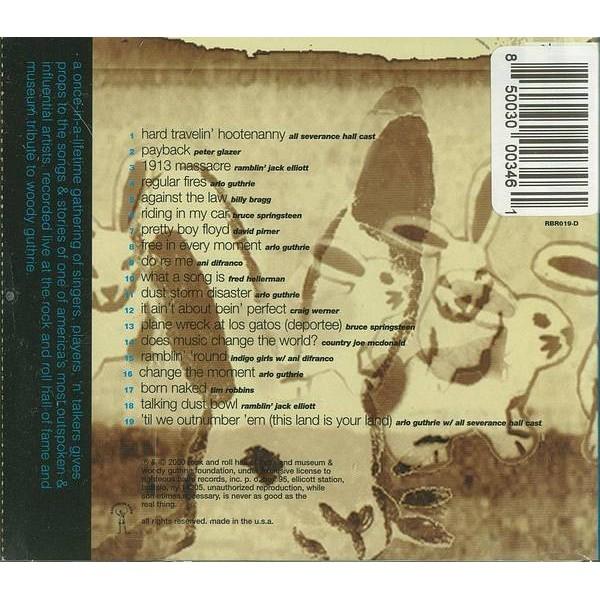 CD 'til we outnumber 'em he songs of woody guthrie SPRINGSTEEN,ANI DI FRANCO,ARLO GUTHRIE 5099749855328