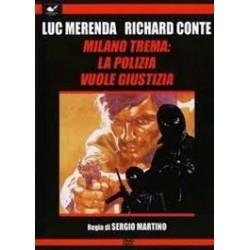 DVD MILANO TREMA LA POLIZIA VUOLE GIUSTIZIA