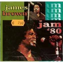 CD James Brown- jam '80 - 752211202222
