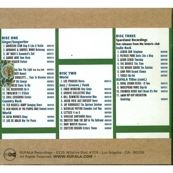 CD Kufala recording Midem Sampler 2008 (triplo album) 684168866481