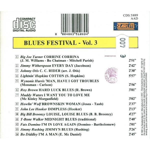CD Blues Festival vol 3
