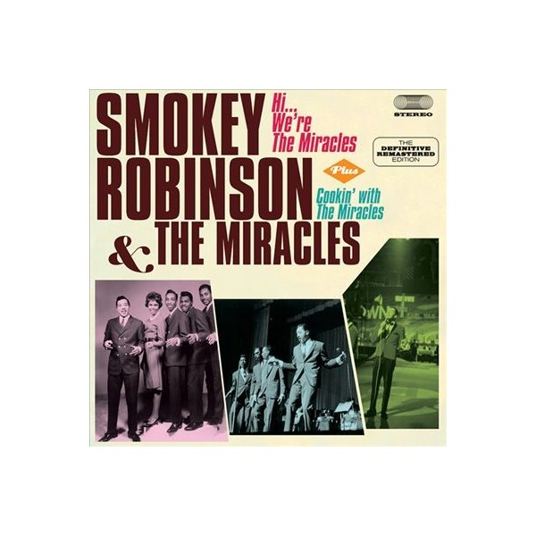CD Smokey Robinson & the Miracles- hi we're the miracles/cookin' with the miracles 8436542012560