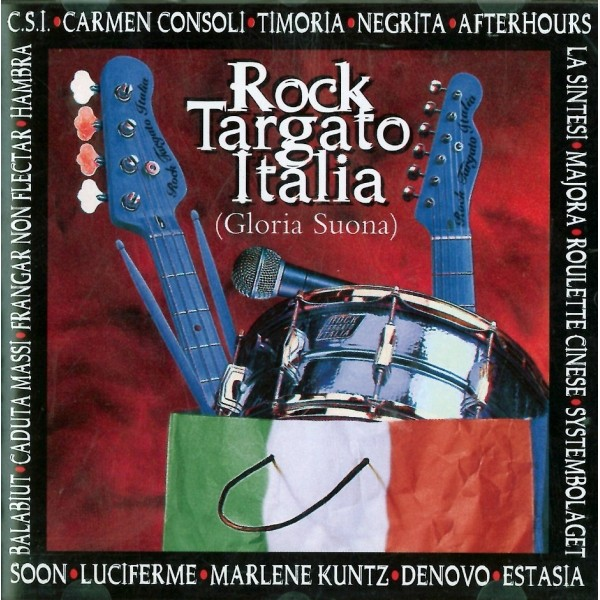 CD Rock Targato Italia gloria suona 731455713626