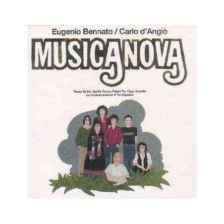 CD Eugenio Bennato Carlo d'Angiò musicanova 8031274005448