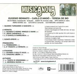 CD musicanova quanno turnammo a nascere 8031274005820