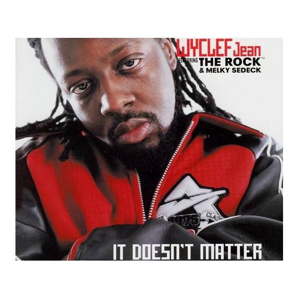 CDs Wyclef Jean featuring the Rock & Melky Sedeck- it doesn't matter singolo
