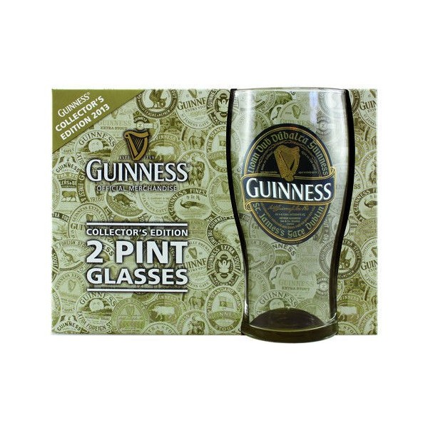 Collector's edition 2 print glasses