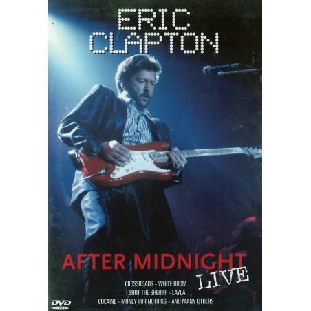 DVD Eric Clapton after midnight live