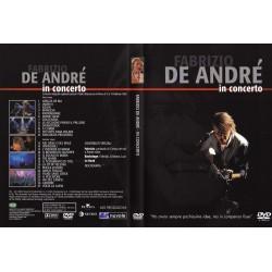 DVD Fabrizio De Andrè in concerto