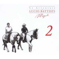 CD Lucio Battisti & Mogol- Le Avventure 2 (3 album) 886919228328