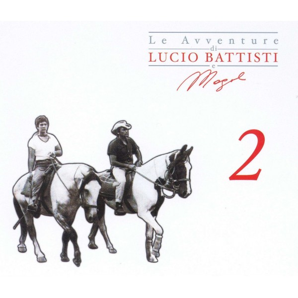 CD Lucio Battisti & Mogol- Le Avventure 2 (3 album) 886919228328