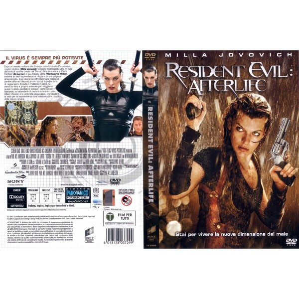DVD RESIDENT EVIL AFTERLIFE