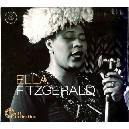 CD Ella Fitzgerald Gold Collection box3cd
