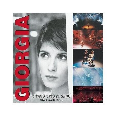 CD Giorgia- strano il mio destino live e studio 95/96