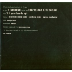 LP E-Smoove feat. the Voice of Freedom- 'lift your hands up'
